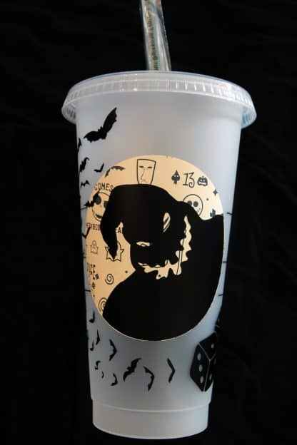 Starbucks Christmas Cups 2019.Disney Nightmare Before Christmas Starbucks Reusable Cold Cup